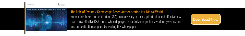 The Role of Dynamic KBA in a Digital World