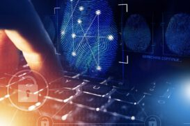 Fingerprint as digital identity concept